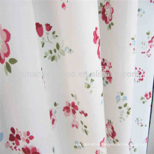 Polyester country style waterproof bathroom window curtain
