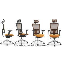 Foshan Büromöbel Orange Mesh Stuhl mit Kopfstütze