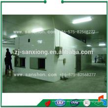 Máquina de secado Tipo de túnel Máquina de secado de alimentos para mascotas