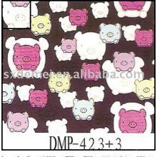 más de quinientos patrones tela de tapicería de algodón