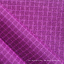 Imperméable Triple-Lined Ripstop Diamond Oxford Nylon en tissu avec PU