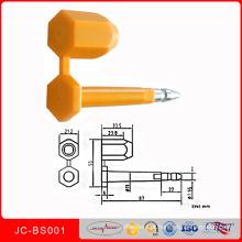 Selo inviolável Jcbs001 do parafuso da segurança do recipiente