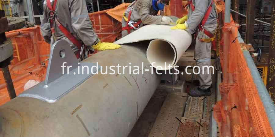 8mm ArmaGel HT650 Aerogel pipe insulation products
