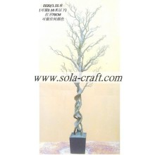 Supply 90CM Wedding Lighted Crystal Trees In Bulk