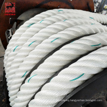 6 strand twisted ship rope nylon heavy duty polyamide monofilament tugboat rope atlas mooring rope