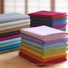 Vendeur chaud 100% coton Poplin en gros Tissu en tissu