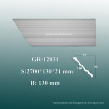 Umgebungsdekorative PU Gesimse / Crown Molding auf Decke