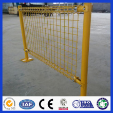 DM Double circle fencing wire mesh/PVC coated Double circle wire mesh fence