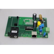 Commutateur de POE d'OEM panneau extérieur 10/100 / 1000BaseT (X) Commutateur de poe industriel de POE à 1000Base-FX industriel convertisseur de médias industriels