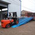 élévateur hydraulique de plate-forme de chargement de dock de récipient; gamme de levage: 0.9m