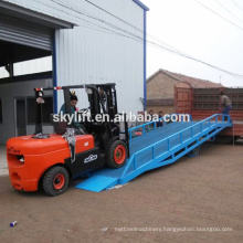 Manufacturer Mechanical dock leveler 3-15t load capacity/loading ramp for container