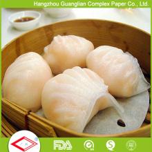Wiederverwendbares Antihaft-Dampfpapier für Bambusdampfer