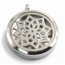 316L Stainless Steel Oil Diffuser Locket for Necklace Pendant