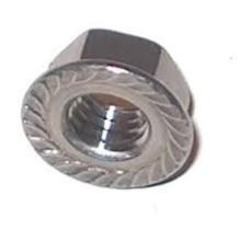 Tuercas de brida de torque de acero al carbono y acero inoxidable