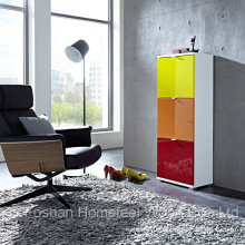 Color Mixed Shoe Storage Cabinet (HF-EY08198)