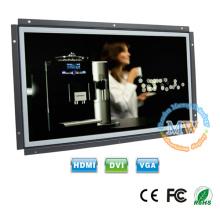 16: 9 hochauflösender 1920x1080 offener Rahmen 15,6 Zoll LCD-Monitor mit HDMI VGA-Anschluss