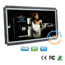 16:9 high resolution 1920X1080 open frame 15.6inch LCD monitor with HDMI VGA connector