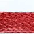 GBA007 AB Banding Rhinestone Fabric By The Yard Rhinestone Trim