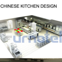 Projeto Personalizado Shinelong Design de Cozinha Chinesa