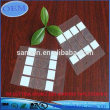 DIE CUT TESA DOUBLE SIDED ADHESIVE TAPE OR STICKER