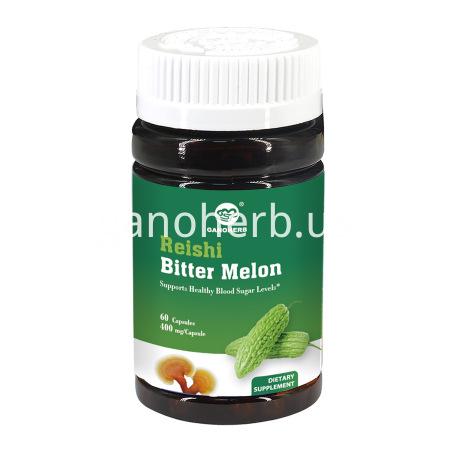 GANOHERB Bitter Melon Capsules with Reishi Mushroom