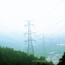 220kv Double Circuit Winkel Stahl Power Transmission Line Tower