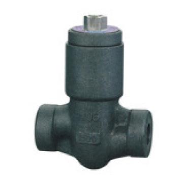 Válvula de retención de acero forjado