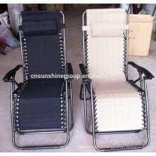 Chaise longue pliante portable extérieure