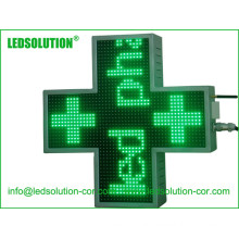 Outdoor Iron Cabinet Cross LED Display Sign