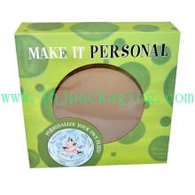 Boîte d'emballage cosmétiques personnalisée Carton papier imprimé