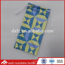 custom logo print microfiber offset printing pouch,microfiber eyeglasses cleaning pouch bag