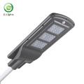 Lumière en aluminium à LED en silicium monocristallin pour rues solaires