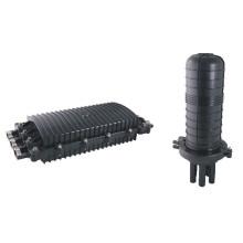 Horizontal anti-corrosion underground outdoor 24 core Fiber Cable Closure FOSC