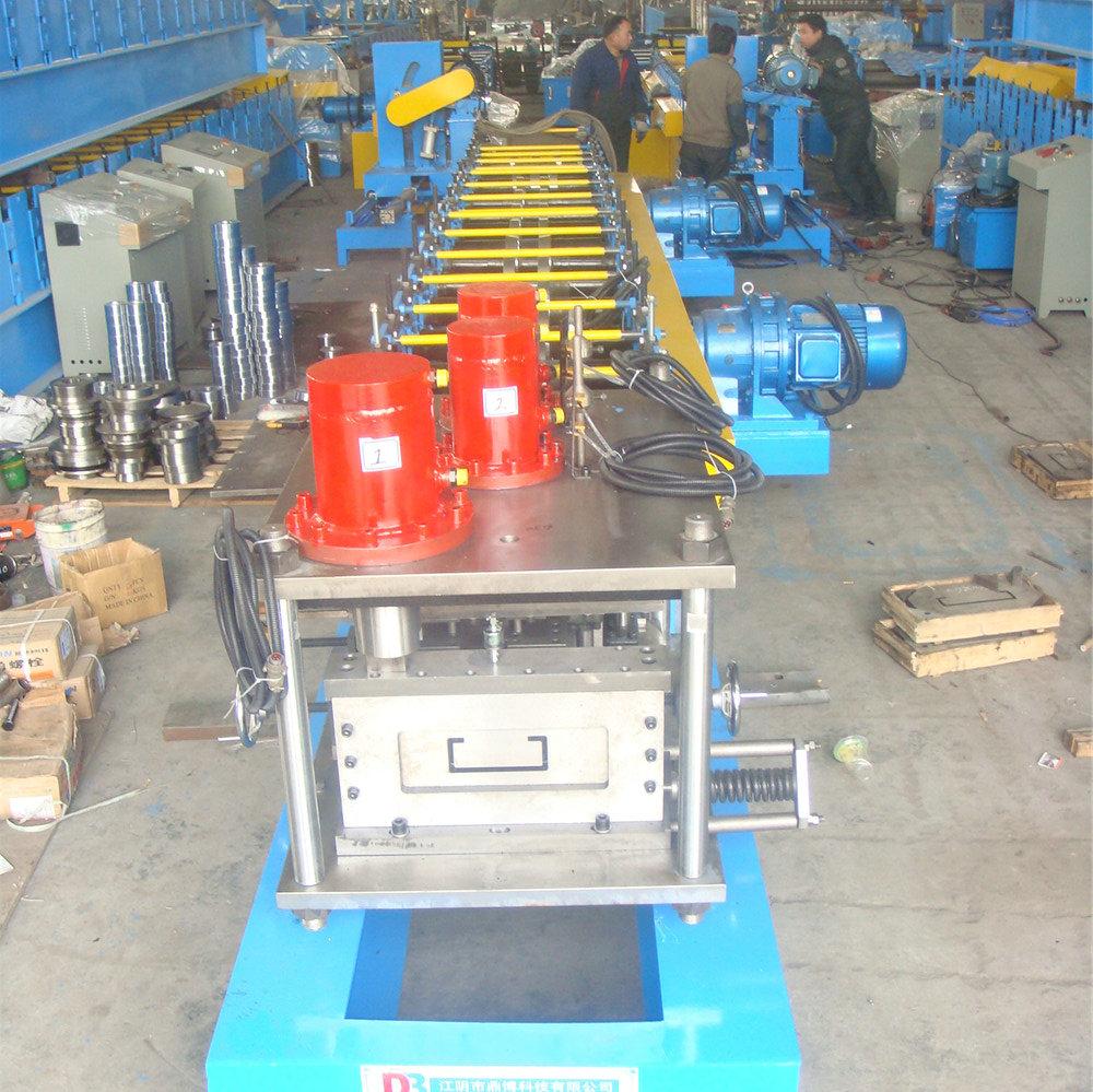 c section purlin building machine