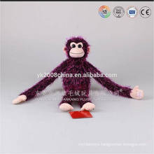 2016 developed hotsale gorilla monkey animal plush toys long arm