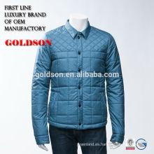 El OEM barato de la prueba del agua de la chaqueta del invierno de los hombres vende al por mayor el diseño 2017