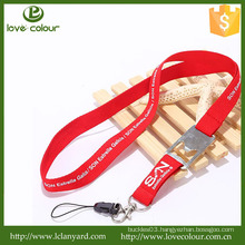Wholesale Custom Red polyester lanyard with bottle opener