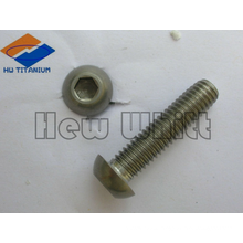 high end Ti6AI4V hex socket button screws-full thread