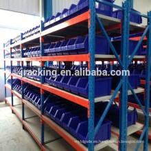 Estante de almacenamiento de 5 galones de botellas de agua Estante de almacenamiento de almacenamiento de estantes largos de servicio mediano económico