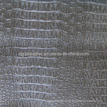 Top Grade Crocodile Design for Upholstery Leather (QDL-53201)