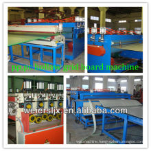 1220mm width 2-10mm pc pp hollow sheet production line