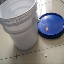 सफेद एचडीपीई प्लास्टिक छेड़छाड़ स्पष्ट pails 10 लीटर