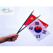 Impresso de punho bandeiras/poliéster impresso Banners