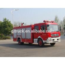 Camión de bomberos de 6 * 4 RHD Dongfeng / coche de bomberos / camión de bomberos del polvo / camión de bomberos de la escalera / camión de bomberos del aeropuerto / camión de bomberos de la espuma del agua