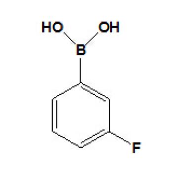 Ácido 3-fluorobenzenoborónico Nº CAS 768-35-4