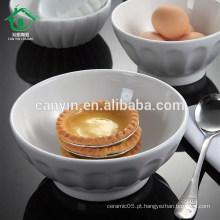 Fast Delivery Preço barato branco personalizado cerâmica aninhamento Bowls