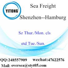 Shenzhen Port LCL Konsolidierung nach Hamburg