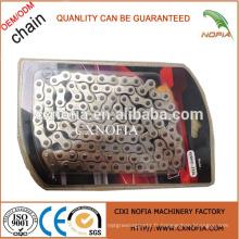 Chaîne de moto 428H-110L de bonne qualité