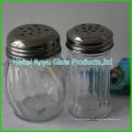 Frasco de vidro manual com moinho de sal / moedor de sal / moedor de especiarias / moinho de pimenta / moinho de pimenta