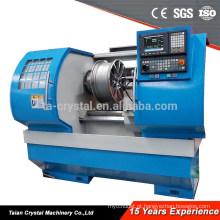 Máquina AWR2840 do torno do CNC do reparo das rodas da liga do corte do diamante